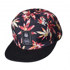 red leaf full cap kepure raudona