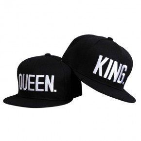 full cap snapback king & queen kepures porai