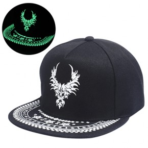 full cap kepurė tamsoje šviečianti