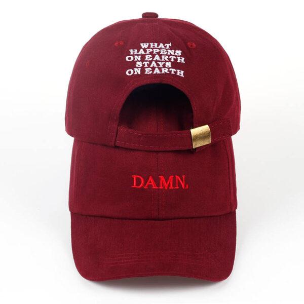 "snapback kepurė ""damn."""