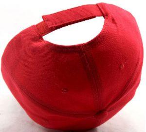 kepure su snapeliu red