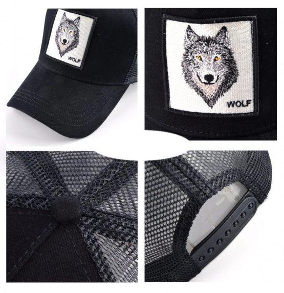 """Kepurė su snapeliu """"Wolf"""""""